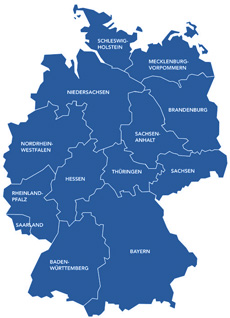 Pharma Jobs nach Bundesländern
